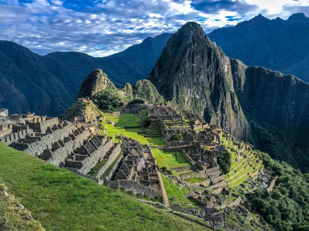 Machu Pichu in Peru, Zuid-Amerika