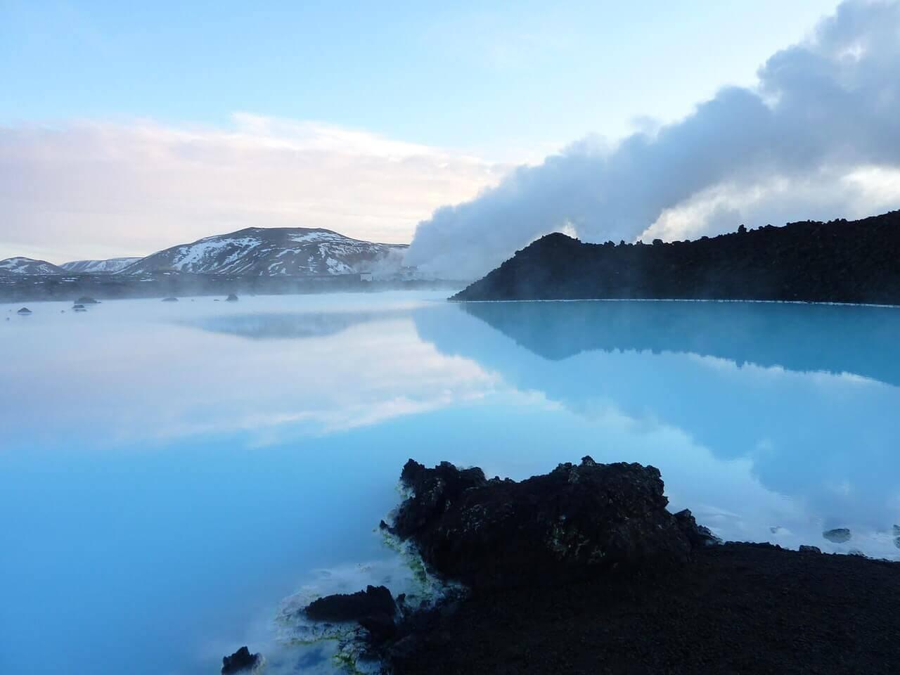 De Blue lagoon van IJsland
