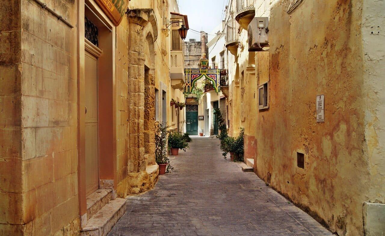 Straatje in Malta