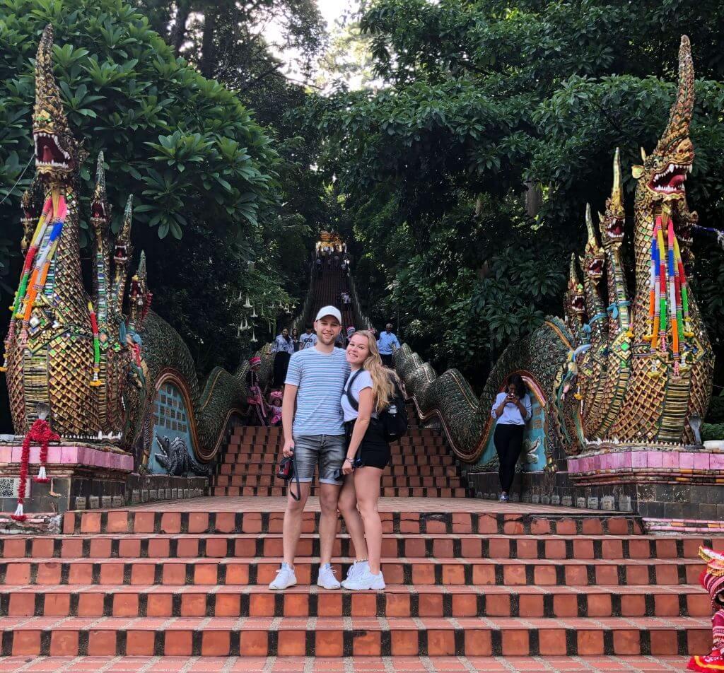 OnlineTravelers in Thailand: Mark en Demi