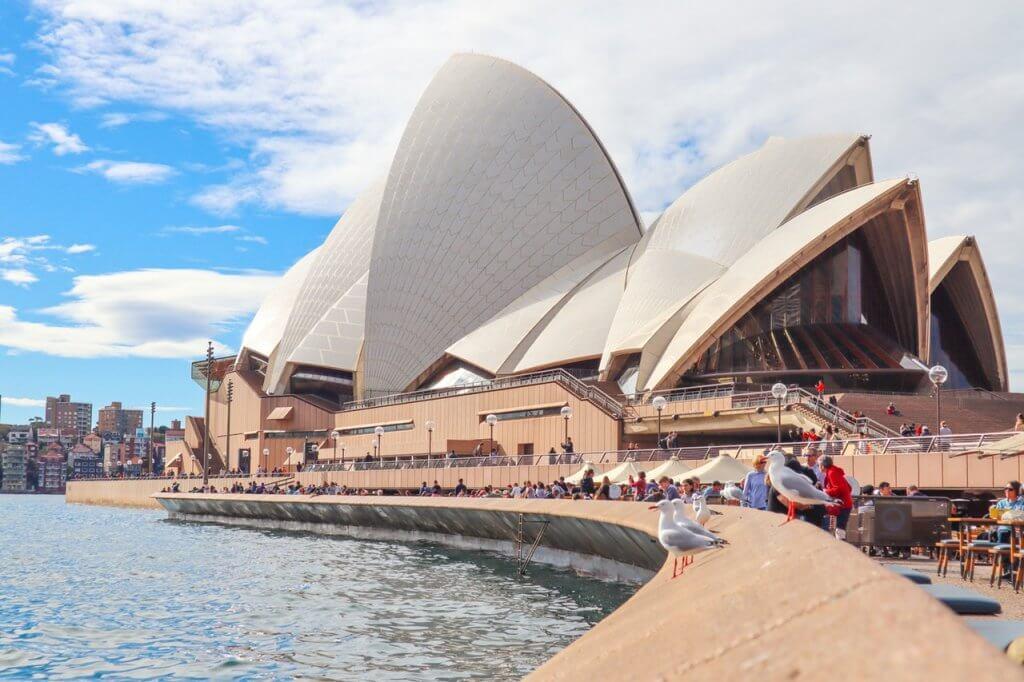 De Sydney Opera House in Australië